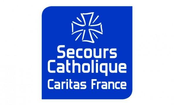 Logo du Secours Catholiques - Caritas France